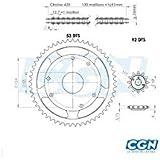Motodak Kit Cadena teknix Adapt. Derbi Senda L/R 96–9942012x 53(demult. Origen) D53/4fix