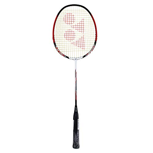 Yonex Nanoray 7000i Aluminum Alloy Strung Badminton Racquet  Wine Red  with Full Cover
