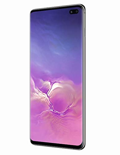 Samsung Galaxy S10+ Smartphone, 128GB, Display 6.4', Dual SIM,  Nero (Prism Black) [Altra Versione Europea]
