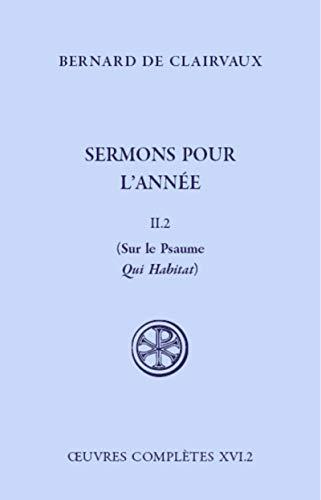 Sermons pour l'année - tome 2 2 (2)