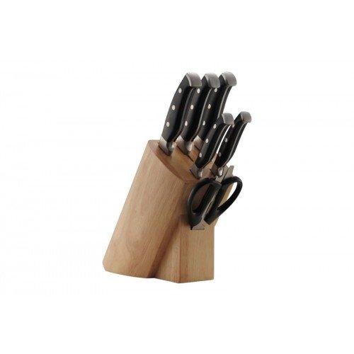 Ceppo portacoltelli con 6 coltelli Coninx Supa Lux - blocco coltelli - Set di 6 coltelli - 5 anni di garanzia