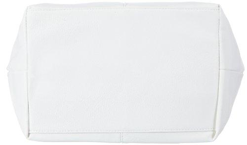 Tom Tailor Acc MIRIPU 10990 Borsa Shopper Donna 44x28x18 cm (B x H x T) Bianco (Weiß (weiß 12))