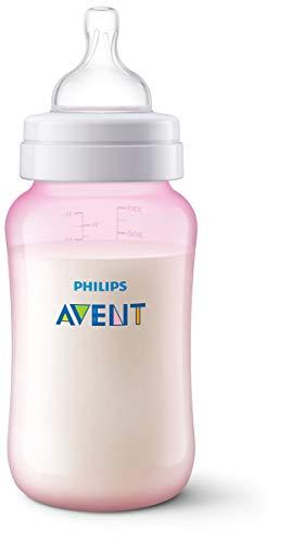Philips Avent SCF817/17 - Biberón Anti-colic de 330 ml, rosa