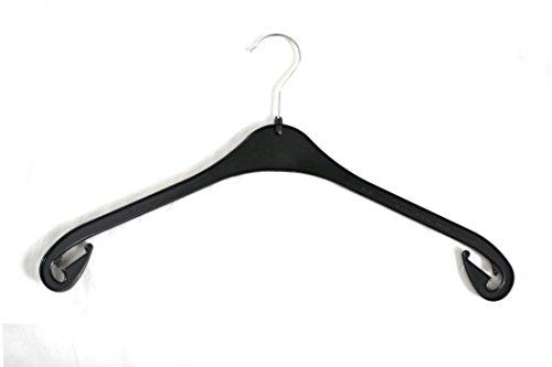 Kunststoff Kleiderbügel, schwarz, NA 47, 20 Stück