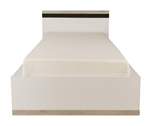 Gami Kopfteil Cosy für Bettstelle, Holz, Weiß, 116 x 24 x 88 cm