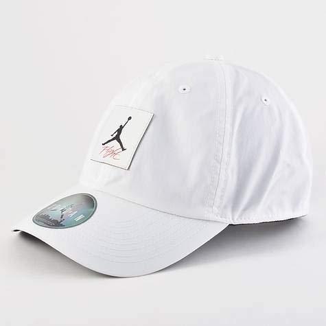 9fe2186fd4df2 Nike Men's JORDAN H86 LEGACY FLIGHT Hat, White/Black, One Size