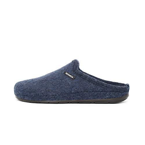 Giesswein Herren Jabel Pantoffeln, Blau (Nachtblau 514), 40 EU