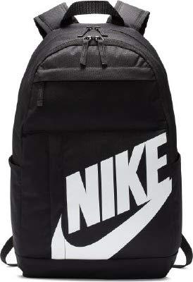 Nike NK ELMNTL BKPK - 2.0 Sports Backpack, Black/White, One Size