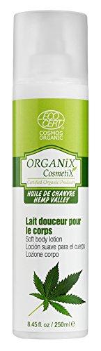 Organix Cosmetix EMD Lait Douceur Corporelle Huile de Chanvre Bio 250 ml