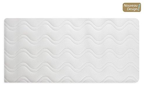 Alfred & Compagnie-Colchón de látex y fibra de coco para cuna, 40x 80cm