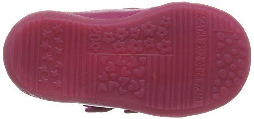 Agatha Ruiz de la Prada 151903, Bottes fille Rose - Pink (Fucsia)