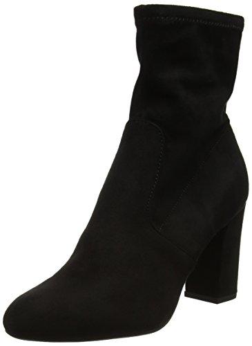 Steve Madden Footwear Damen Avenue Ankleboot Stiefel, Schwarz (Black), 38 EU (Für Steve Madden-stiefel Frauen)