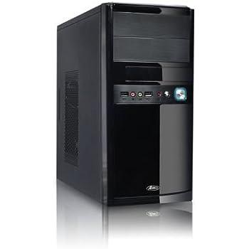 Advance 6008B1 New Soho Boitier PC d'ordinateur en Plastique Micro-ATX 480 W Noir