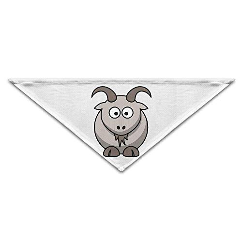 Gxdchfj Pet Scarf, Cute Goat Cartoon Dog Bandanas Scarves Triangle Bibs Scarfs Fashion Basic Neckerchief Cat Collars Pet Costume Accessory Kerchief for Large&Medium&Small - Superman Dog Kostüm Medium