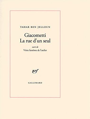 Giacometti : La rue d'un seul suivi de Visite fantôme de l'atelier