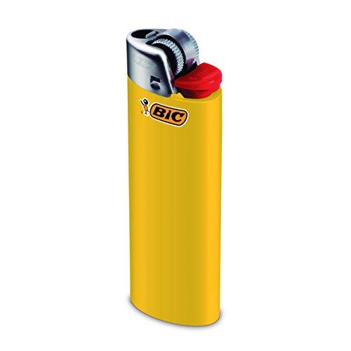 BIC Feuerzeug Reibrad Maxi, neutral, sortiert, 50er Packung, 1er Pack (1 x 50 Stück) - 4