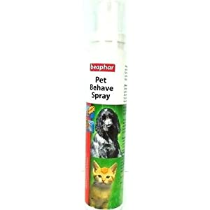 dog behaviour spray