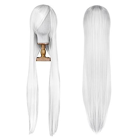 Sevada 100cm Lange Haare Perücke Sexy Frauen Wig für Karneval
