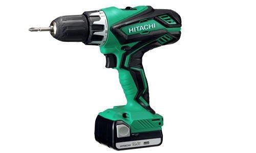 Hitachi DV14DJL Taladro percutor-Atornillador 14,4 V 2 Litio deslizante 1,5 Ah, 100 W, 14.4 V, Schwarz...