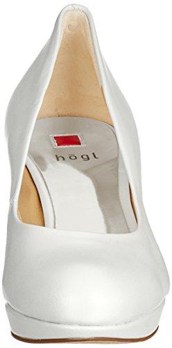 Högl 5-10 8003 0300, Scarpe con Tacco Donna Bianco (Perlweiß)