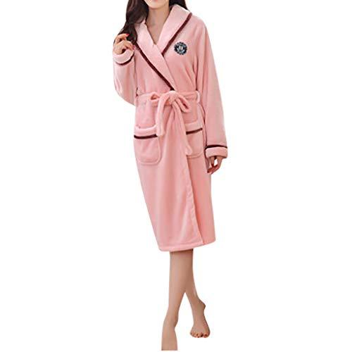 MCYs Pyjama Homme Polaire Robe Peignoir Pas Cher personnalisé Robe Chambre Homme Longue Hiver(M-XXL