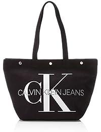 da6dcd62d1 Calvin Klein - Canvas Utility Ew Bottom Tote M, Borse Tote Donna