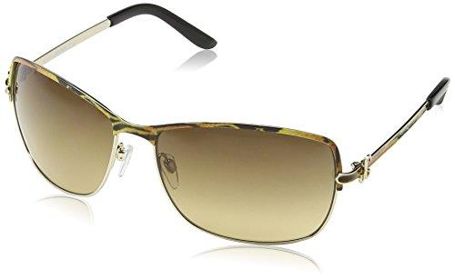 Just Cavalli JC329S Aviator Sonnenbrille, Tiger Effect Frame / Gradient Rose