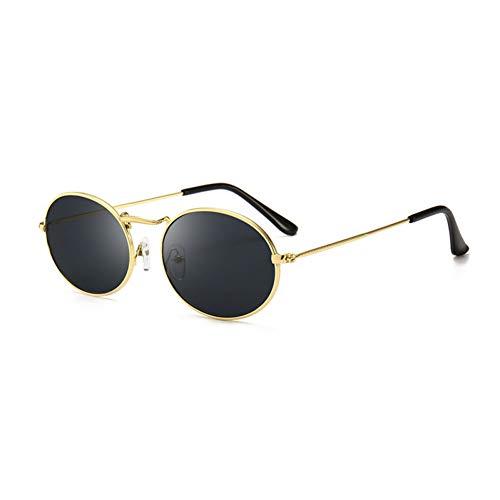 CHENGZI Ovale Sonnenbrille Frauen Berühmte Kleine Gold Schwarze Sonnenbrille Weibliche Rote Eyewear