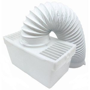"""Lazer Electrics Indoor Condenser Vent Kit Box With Hose for Zanussi Tumble Dryers 4"""" 100mm by Lazer Electrics"""