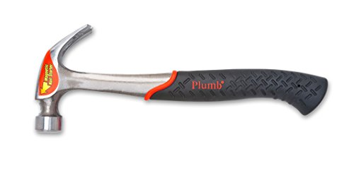 Plumb SS20CN 20oz/567g Hammer mit Gebogene Klauen und Magnetischem Nagelhalter