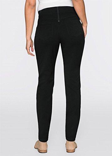 Versandhaus - Pantalon spécial grossesse - Uni - Femme noir Schwarz Schwarz