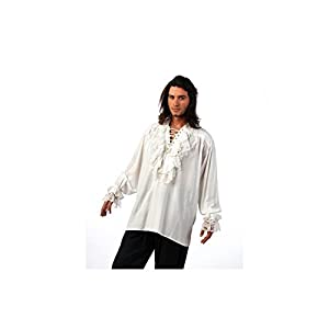 Limit Sport- Camisa Blanca Medieval Hombre, Multicolor, Media (limitsport 1)