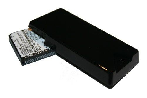 EXTENDED AKKU LI-ION 2200mAh passend für HTC Touch Diamond 2, O2 XDA Diamond 2 ersetzt TOPA160, 35H00125-07M, BA-S360