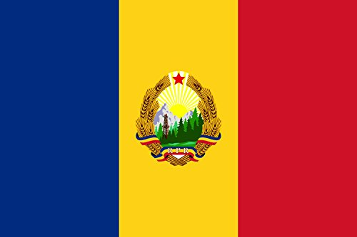 magFlags Flagge: Large Romania 1952-1965   Romania 24 September 1952-21 August 1965   Querformat Fahne   1.35m²   90x150cm » Fahne 100% Made in Germany