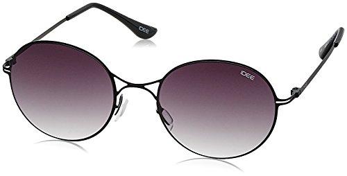 IDEE Gradient Round Unisex Sunglasses - (IDS2063C1SG|51|Smoke Gradient lens) image
