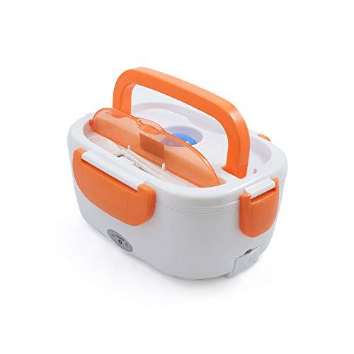 Tartera Eléctrica para Coche Naranja, 1,05 L, 40 W