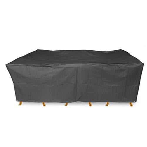 Zelte Outdoor Garten-Möbel Bedecken Wasserdichte Plane-Terrasse-Patio-Staubschutz-mechanischer Rostschutz, Oxford-Stoff (größe : 308x138x*98CM)