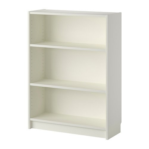 Ikea billy - libreria, colore bianco contemporaneo white