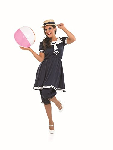 Fun Shack Damen Costume Kostüm Womens Victorian Bathing Suit, ()