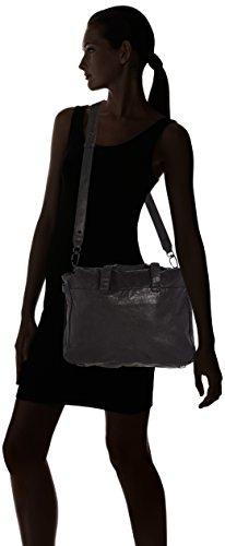Liebeskind Berlin  Yao plain, Sacs portés main femme Noir - Schwarz (ninja black 9998)