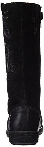 Garvalín - 161625, Scarpe sportive Bambina Nero (Negro (Sauvage / Serraje))