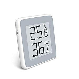Homidy Hygrometer Digital Thermometer Innen,E-Ink HD display Digital Thermo-Hygrometer innen Feuchtigmesser