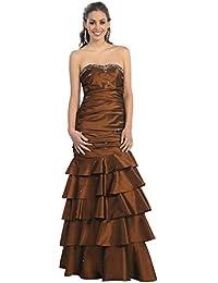 Ballkleid Boden-lang Abendkleid elegant figurbetont für Hochzeit Abiball- Kleid Abschlussball Kleid Meerjungfrau Festliche… 2ba61c520f
