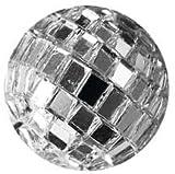 Spiegelkugeln, Diskokugeln. Ca 20 mm. 10 Stück. Farbe: Silber NATUR