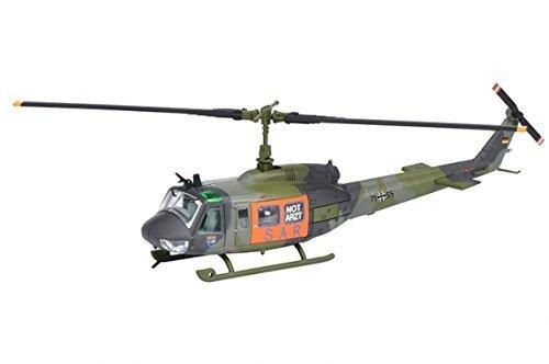 """'Schuco Bell UH 1d Rettungshubschrauber """"SAR Helicopter Model 1: 87–Modelle von Spielzeug (Helicopter Model, 1: 87, khaki, 14Jahr (S), Zink)"""