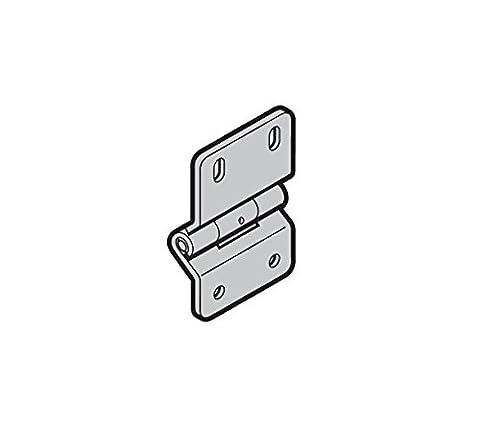 Hormann Charnière type 4 pour les portes sectionnelles industrielles de série 50 / Galvanisées, pour porte de guichet avec seuil sans déclenchement, à partir de largeurs de porte de 5510 mm / Art.nr .: 3040030
