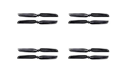 UUMART Walkera Runner 250 (R) Advanced GPS Quadcopter Drone Spare Parts 2 Pairs Blade Propeller Set (CW + CCW) Runner 250(R)-Z-01 Black