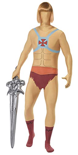Men's He-Man Second Skin Suit. Medium or Large for Adults