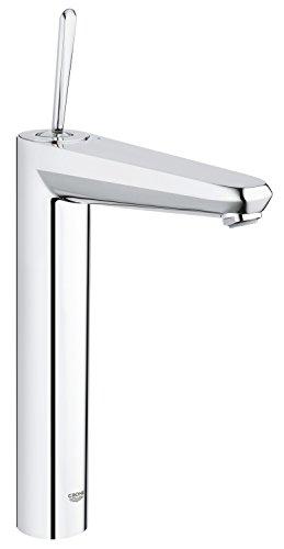 freistehende badarmatur Grohe Eurodisc Joystick   Badarmatur - Waschtischarmatur   für freistehende Waschschüsseln, glatter Körper, extra hoher Auslauf   23428000