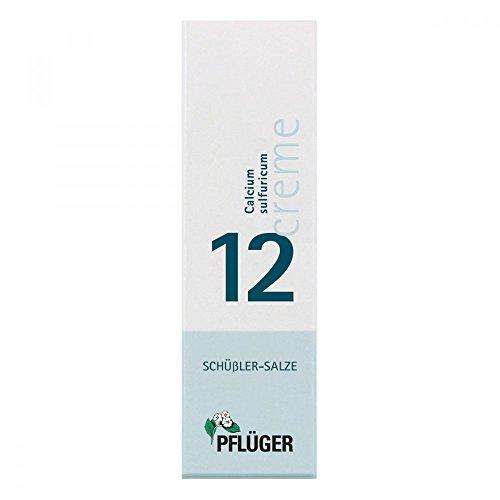 Biochemie Pflüger 12 Calcium sulfur. Creme 75 g
